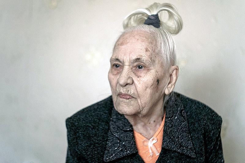 Радистка Горбенко Галина Кузьминична, 1926 года рождения.
