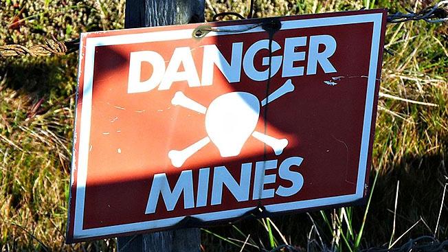 Почему сверхдержавы не готовы отказаться от мин?