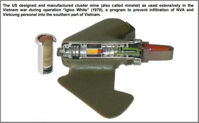 Американская мина BLU-43/B.