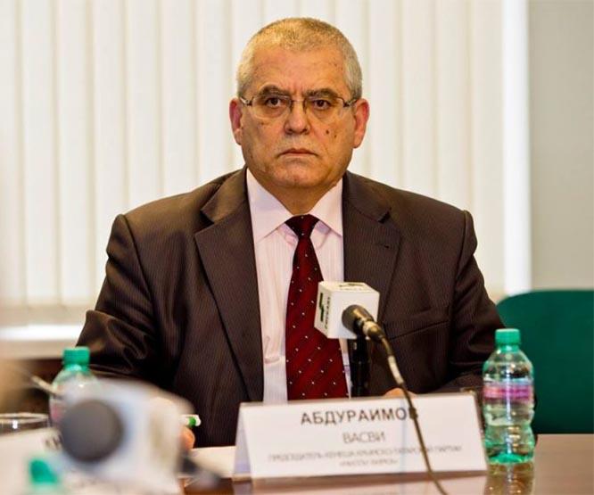 Председатель Кенеша (Совета) общественной организации «Милли Фирка» Васви Абдураимов.