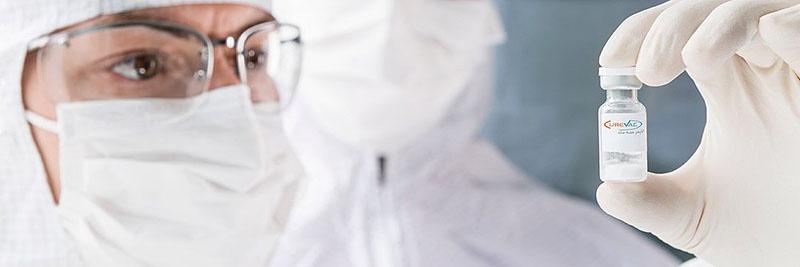 CureVac является ведущей биофармацевтической компанией в области мРНК-технологий.