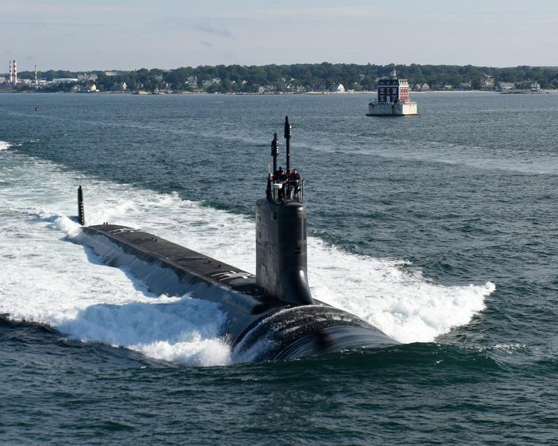 Гиперзвуковые ракеты морского базирования будут устанавливаться на атомных подводных лодках типа Virginia («Вирджиния»).