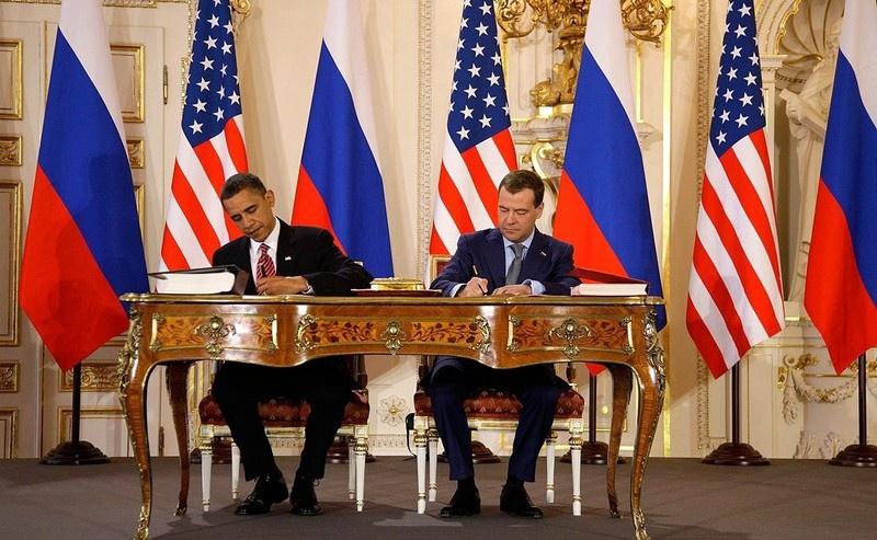 Договор об ограничении стратегических наступательных вооружений был подписан 10 лет назад.