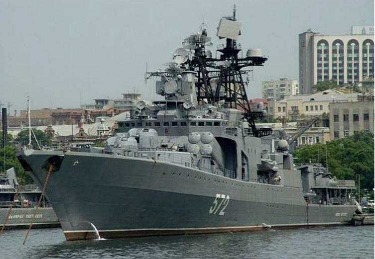 Большой противолодочный корабль «Адмирал Пантелеев».