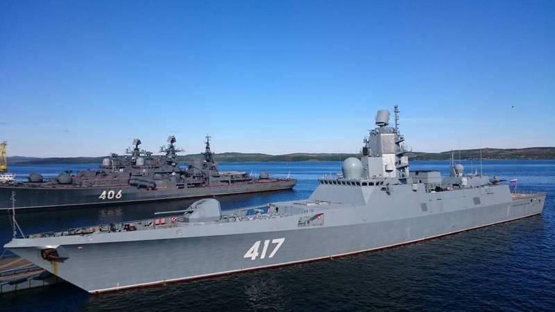 Фрегат проекта 22350 «Адмирал флота Советского Союза Горшков».
