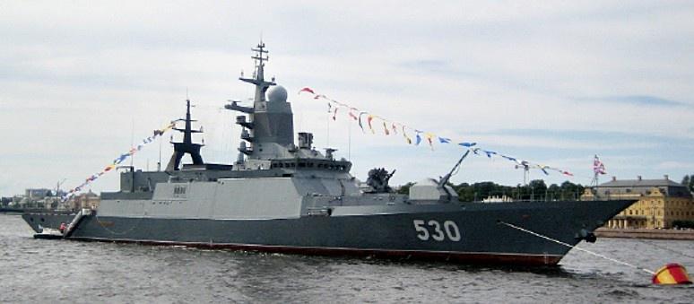 Российский «корвет» проекта 20380/20385.