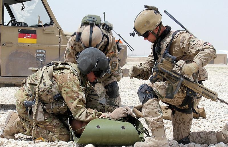 В Афганистане за годы операции, которую проводит коалиция, погибли 59 немецких военнослужащих.