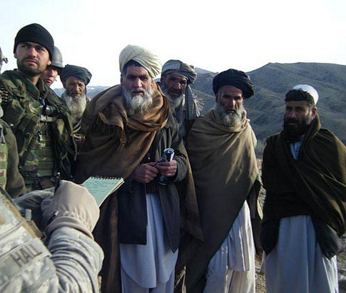 За обеспечение безопасности перечислялись определённые суммы, обычно из расчёта численности отряда талибов*.