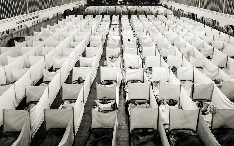 Первую мировую войну «сопровождали» несколько вирусных и бактериальных эпидемий.