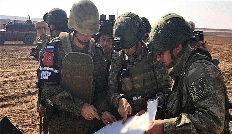 С горем пополам российские и турецкие военные всё же провели второе совместное патрулирование участка трассы М-4.