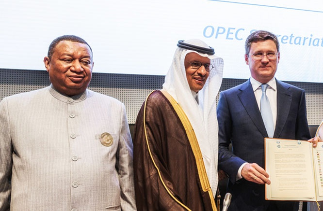 ОПЕК, Саудовская Аравия и Россия не смогли придти к соглашению.