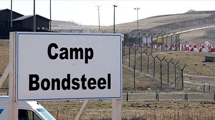 Военная база НАТО Кэмп-Бондстил.
