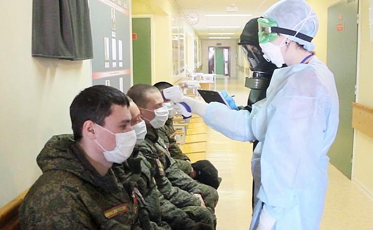 «В настоящее время в Вооружённых силах проведено 3241 тестирование военнослужащих на предмет коронавируса. Все результаты отрицательные, заболевших нет».