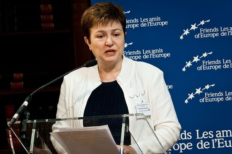 Директор-распорядитель МВФ Кристалина Георгиева заявила о высокой вероятности глобальной рецессии.