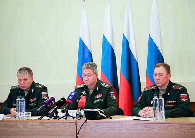 Заместитель министра обороны РФ Тимур Иванов на селекторном совещании в Минобороны.