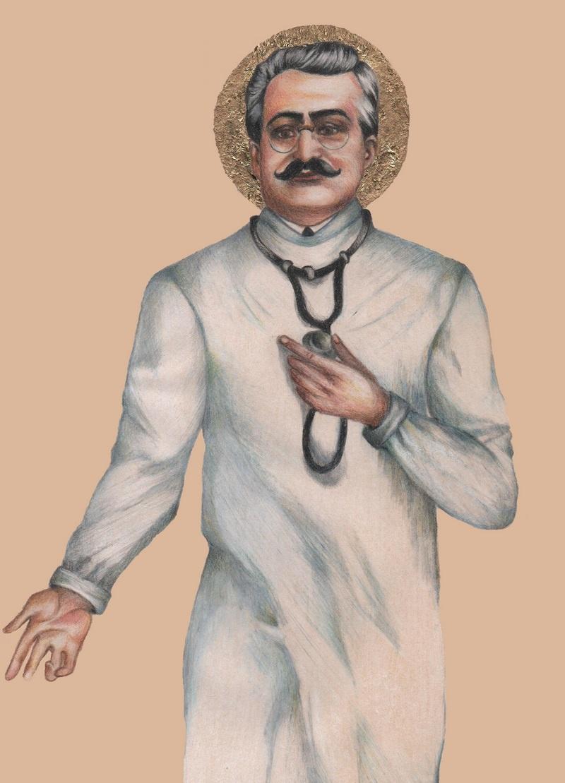 В 1987-м папа римский Иоанн Павел II признал профессора медицины Джузеппе Москати святым.