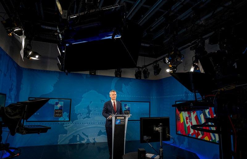 Натовский генсек в онлайн-режиме провёл 19 марта отчётную пресс-конференцию за минувший год и доказал свою полную безнадёжность.