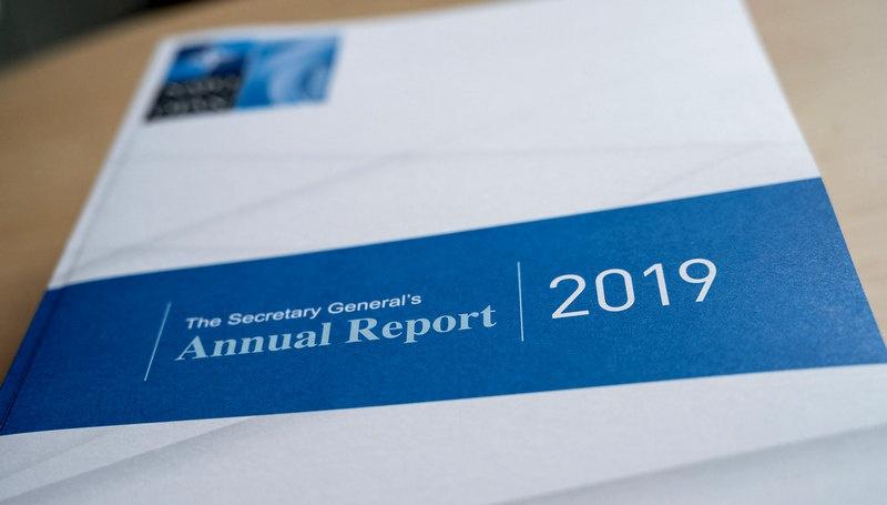 Ежегодный горе-доклад главных достижений НАТО за отчётный период.