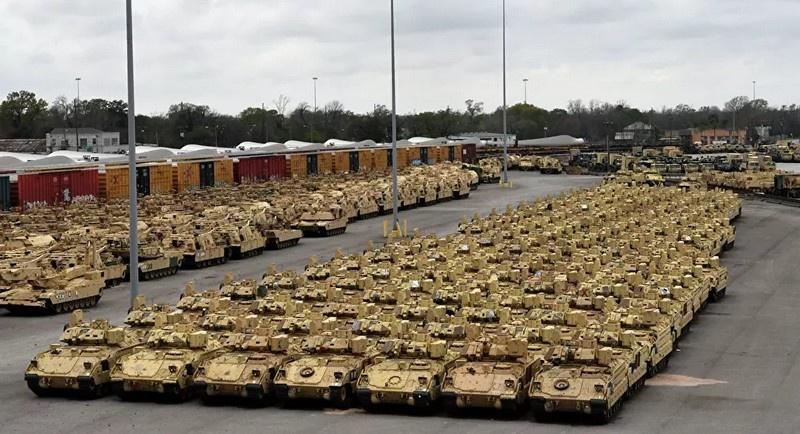 НАТО во главе с США затеяли Defender Europe 2020, чтобы под прикрытием якобы невинных манёвров сформировать у границ России силы вторжения.