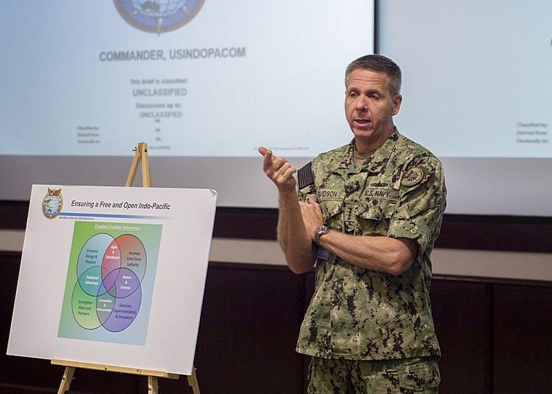 Командующий INDOPACOM адмирал Филип Дэвидсон запросил на модернизацию у Пентагона около 20 млрд долларов на 2021 финансовый год.