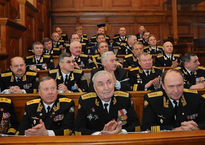 Торжественное заседание Учёного совета Академии.