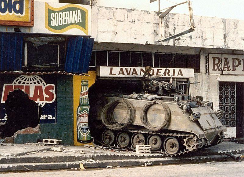 20 декабря 1989 года США совершили прямое вооружённое вторжение в Панаму.