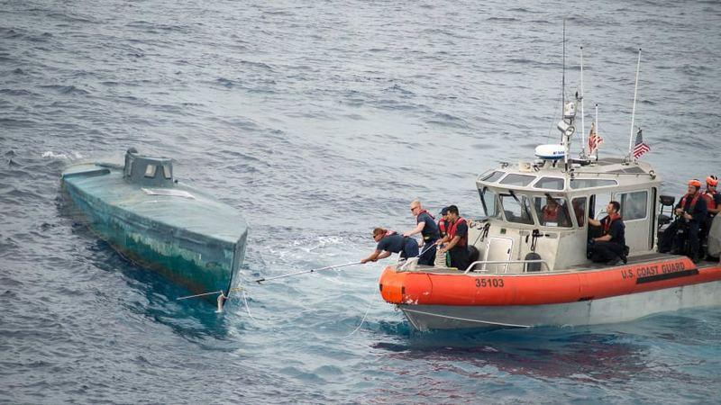 Морским путём в США отправляется 70% контрабанды кокаина с тихоокеанского побережья Колумбии.