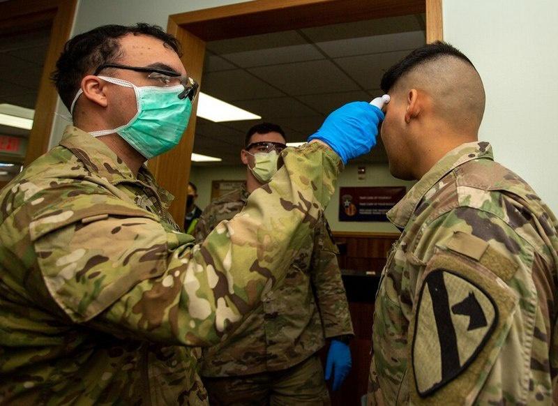 Зараза накрыла нескольких военнослужащих, среди которых есть, как минимум, один представитель НАТО.