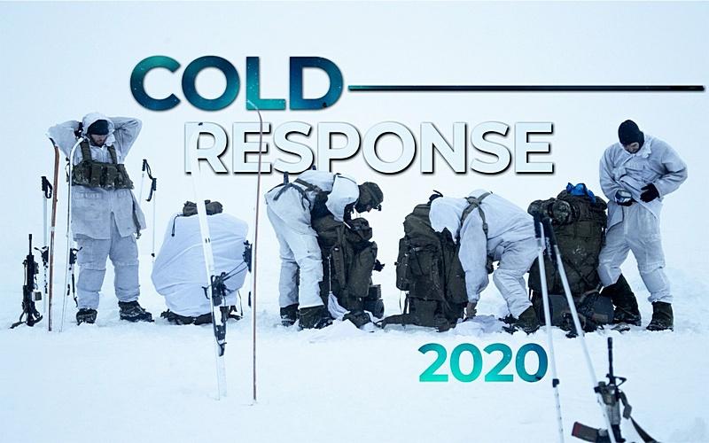 В Норвегии досрочно пришлось прервать манёвры Cold Response.