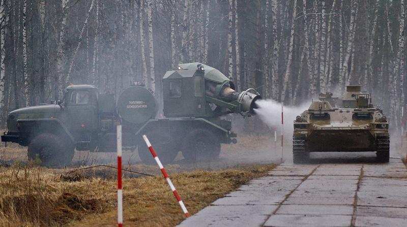 Войска РХБЗ России можно по праву назвать самыми современными в мире.
