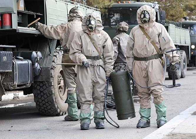 Войска РХБЗ России лучшие в мире по уровню оснащённости спецтехникой и средствами индивидуальной защиты.