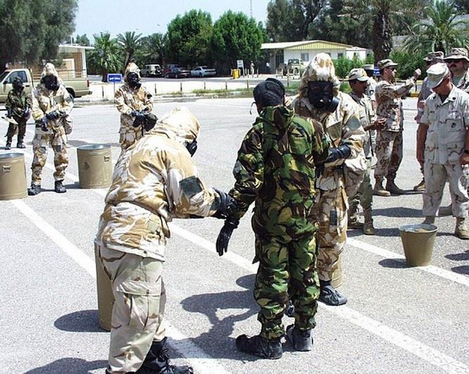 Батальон радиационной, химической и биологической защиты НАТО.