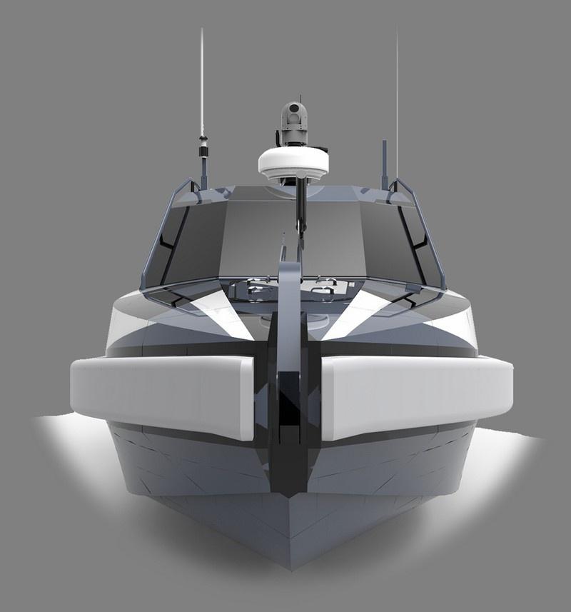 Многофункциональный беспилотный катер «Искатель».