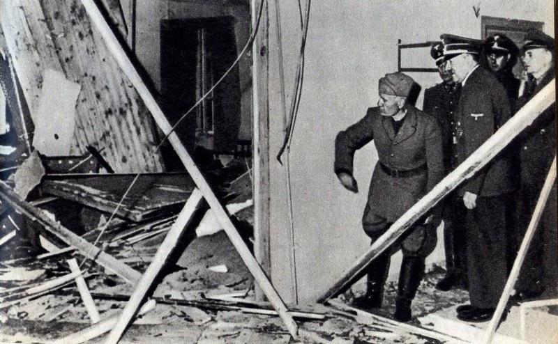 И на этот раз Гитлер уцелел. 20 июля 1944 года во время покушения в ставке «Волчье логово».
