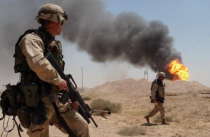 Вторжение США в Ирак в 2003 году.
