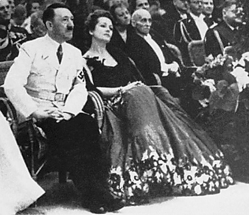 Ольга Чехова была любимой актрисой Гитлера, но оставалась патриоткой, готовой оказать помощь своей исторической родине.