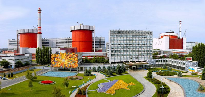 Южно-Украинская АЭС.