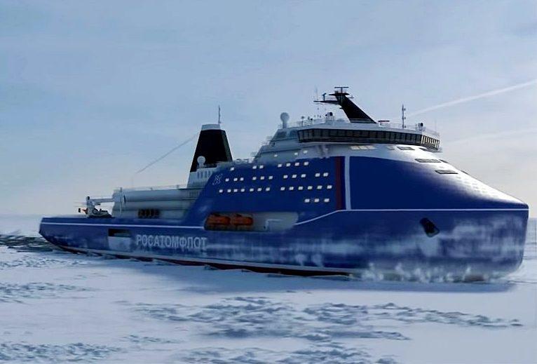 «Лидер» - ледокол четвёртого поколения, которому не страшны четырёхметровые льды на всём протяжении Северного морского пути.