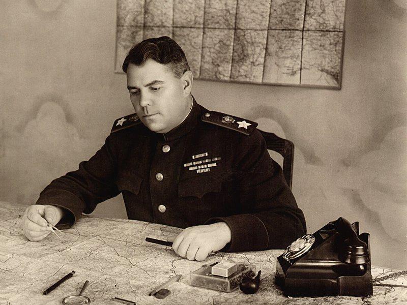Маршал Советского Союза А.М. Василевский.