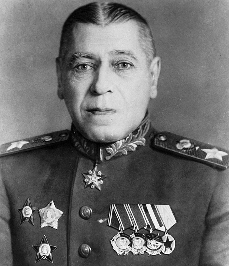 Маршал Советского Союза Борис Михайлович Шапошников.