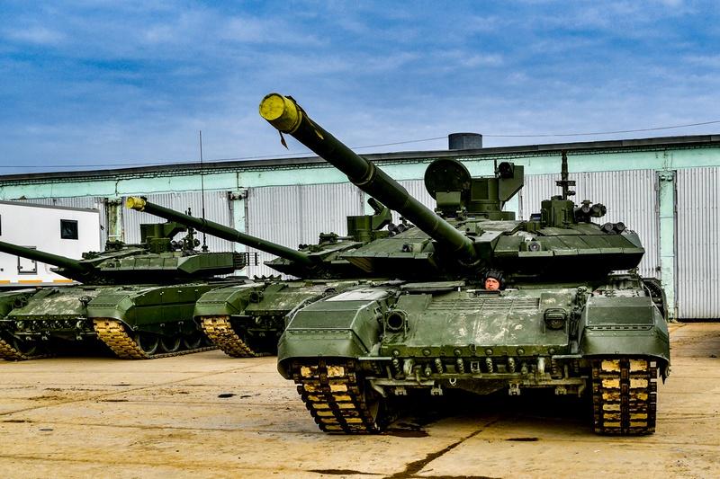В гвардейскую танковую армию ЗВО поступили новейшие танки Т-90М «Прорыв».