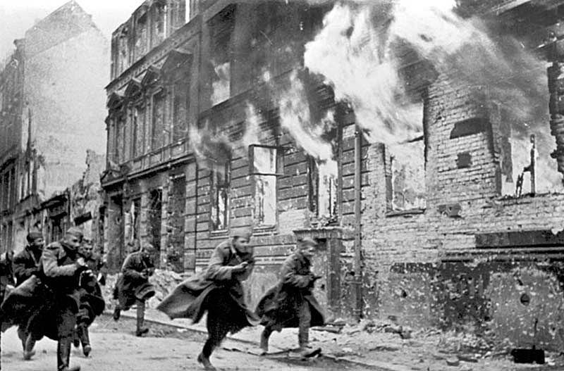 Основной способ преодоления сопротивления противника заключался в широком применении штурмовых отрядов.