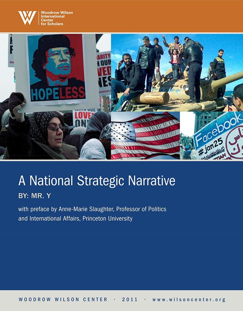 «Национальный стратегический нарратив», опубликованный в 2011 г. за подписью «Мистер Y».