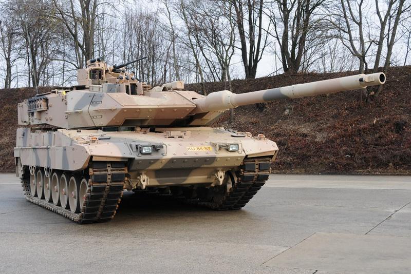 Leopard 2A7V всего лишь доработка уже существующей модели.