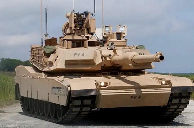 Внешне новая модель будет мало отличаться Abrams М1А2 SEP.v3.