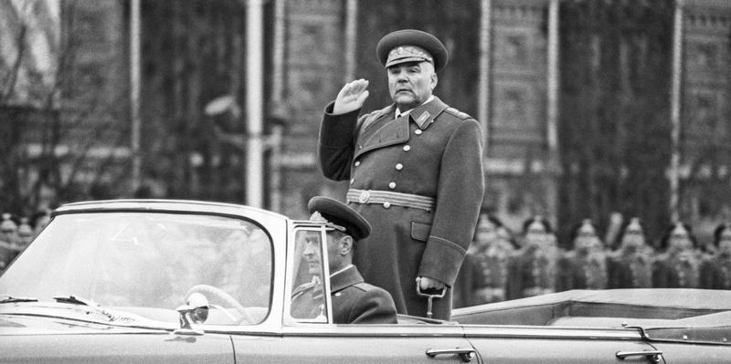 Маршал Малиновский 10 лет был министром обороны СССР.