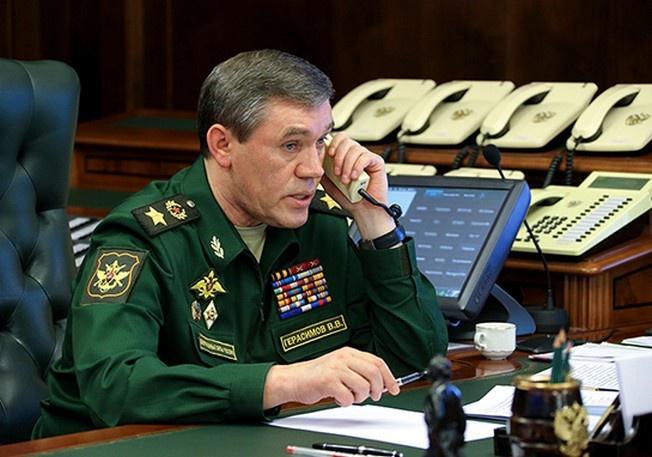 Начальник Генерального штаба Вооружённых сил - первый заместитель министра обороны РФ генерал армии Валерий Герасимов.