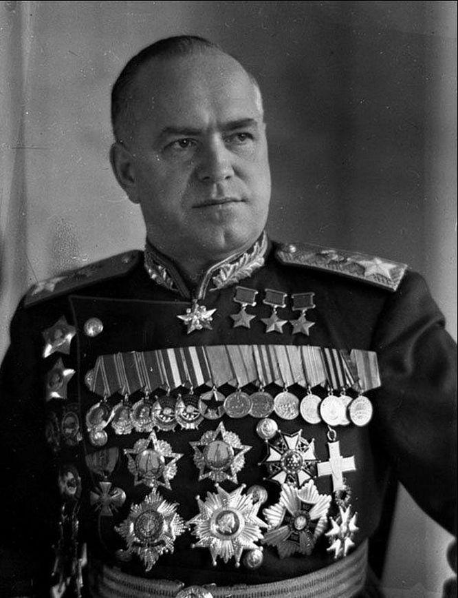 Маршал Георгий Константинович Жуков.