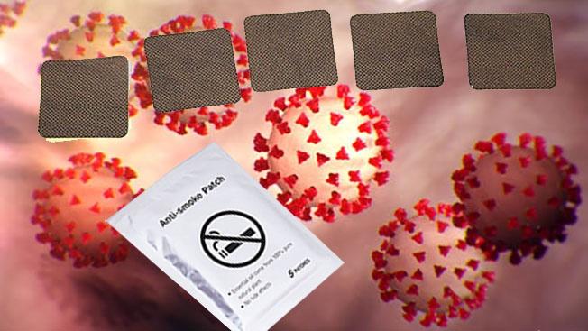 Никотиновые пластыри как новое средство лечения коронавируса