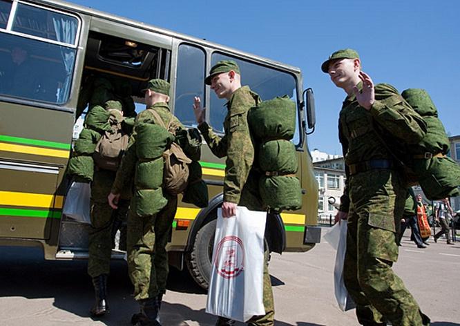 Отправка молодых людей в войска начнётся не ранее 20 мая.